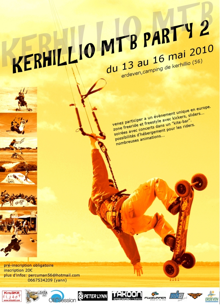 affiche kerio kite unit