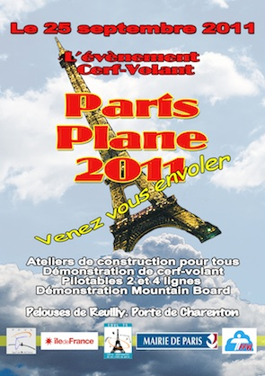 Paris PLane site