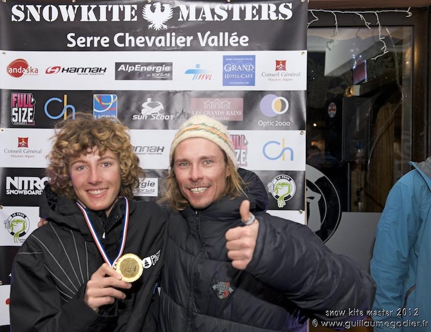 snow kite master 2012