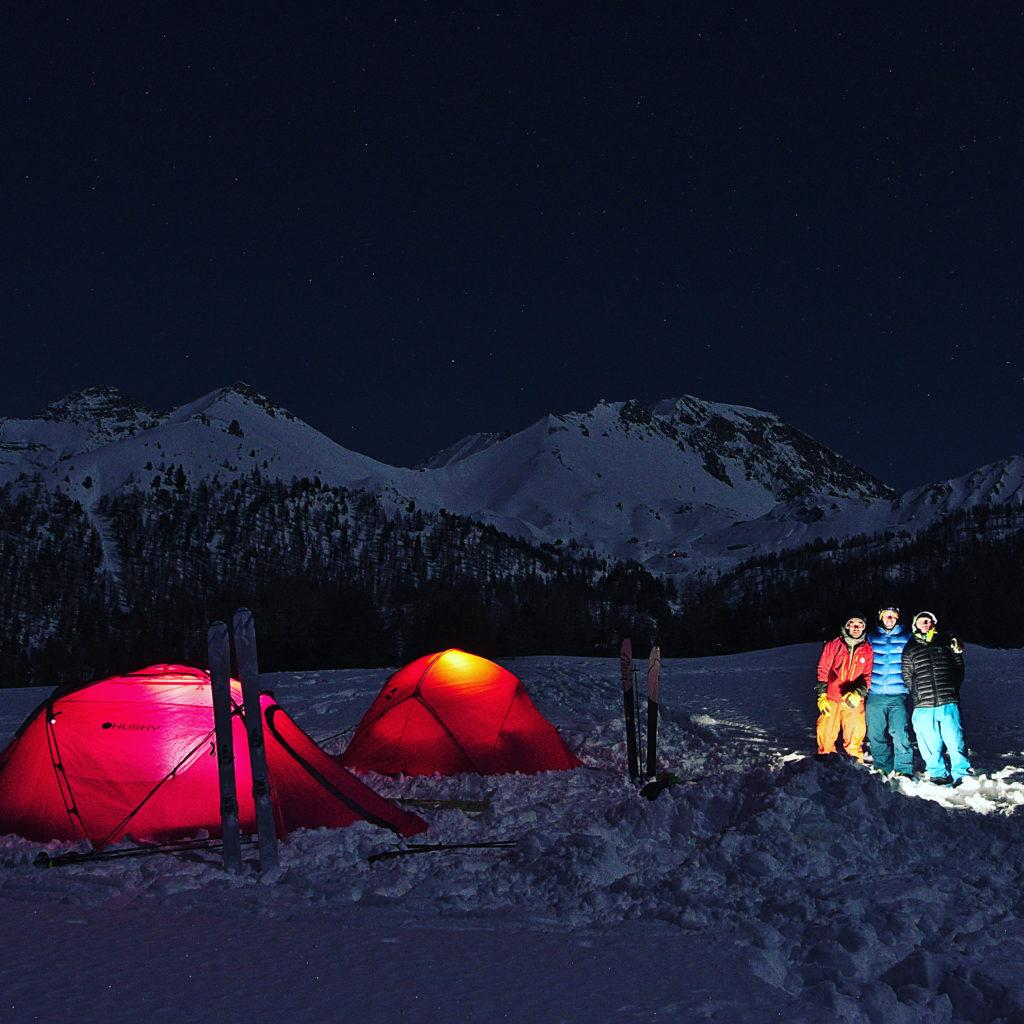 nuit en tente